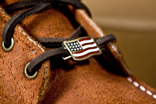 Red Wing Shoe Lace Charm